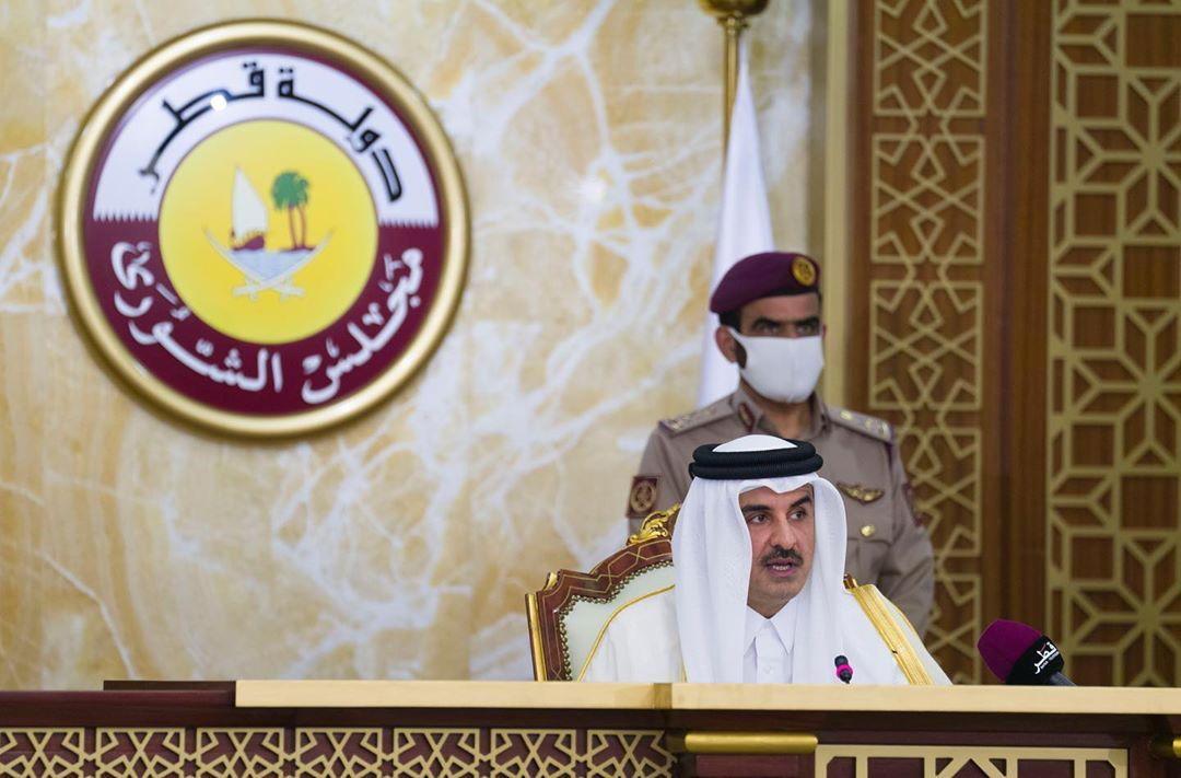 أمير قطر يتوجه إلى المملكة العربية السعودية لحضور القمة الخليجية