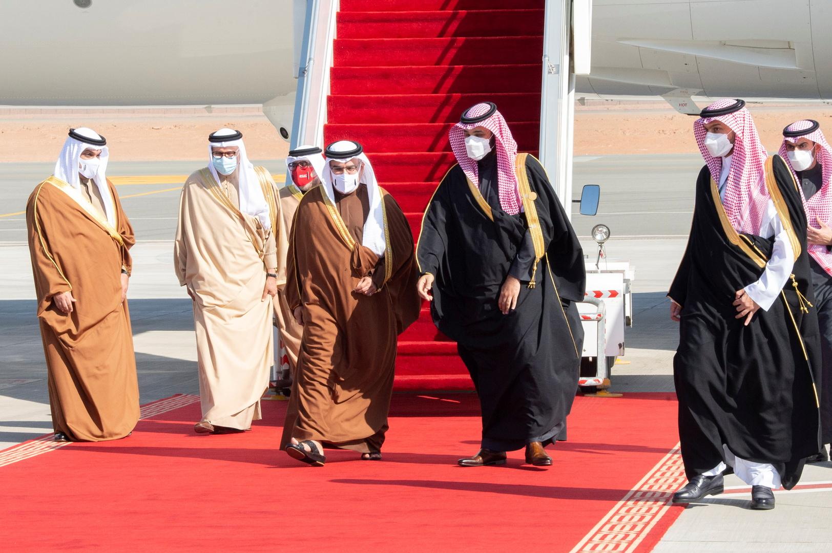 ولي عهد البحرين يشكر السعودية على