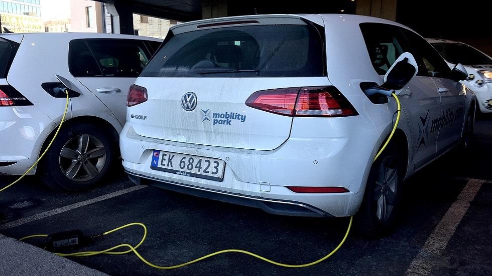في مؤشر قياسي عالمي.. السيارات الكهربائية في النرويج تفوز بحصة سوقية 54%