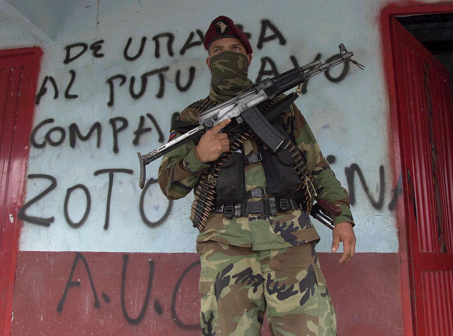 كولومبيا.. الجماعات المسلحة تخسر أكثر من 5 آلاف عنصر في 2020