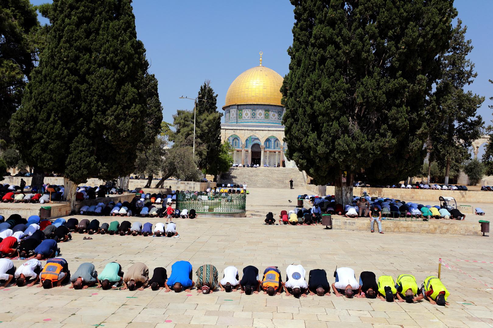 مفتي القدس يدين محاولات إسرائيل هدم الأقصى