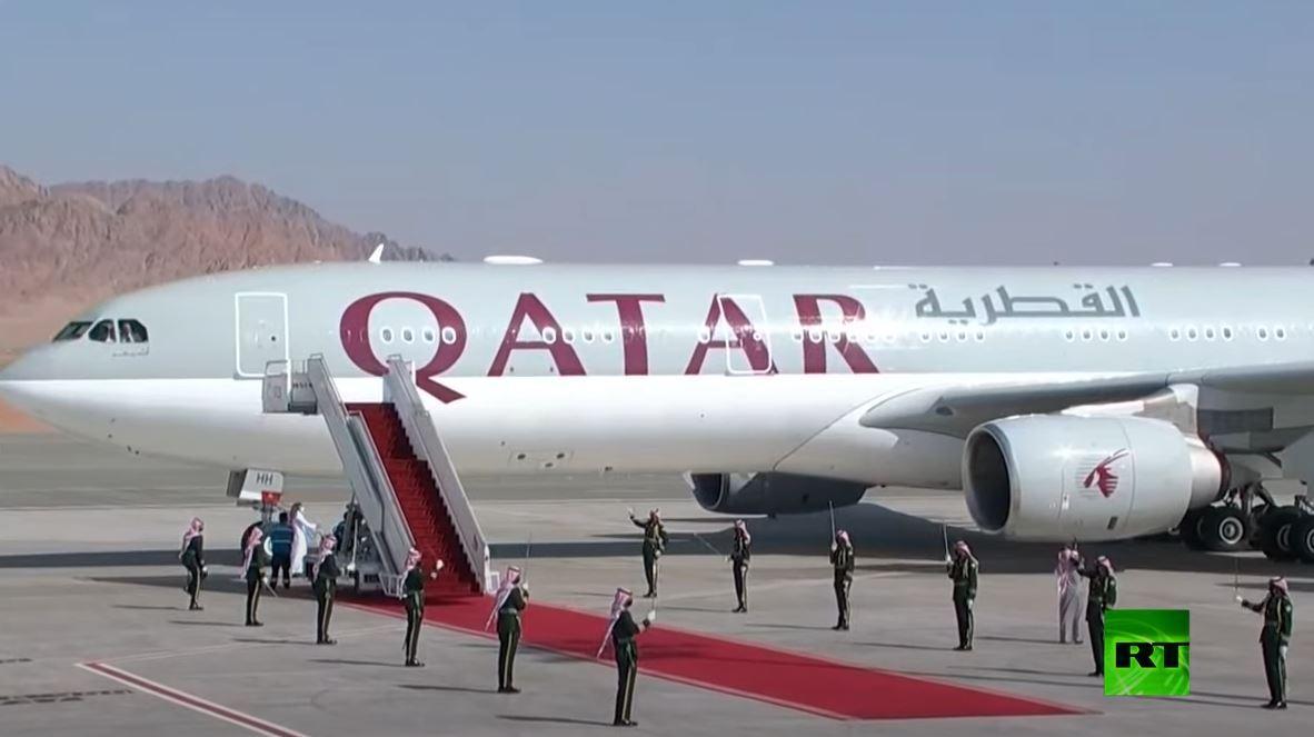 استقبال محمد بن سلمان القادة الخليجيين في قمة العلا