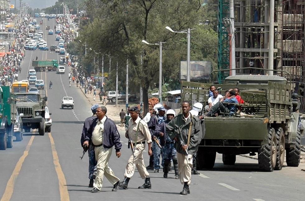 الشرطة الإثيوبية تخلي سبيل مصور