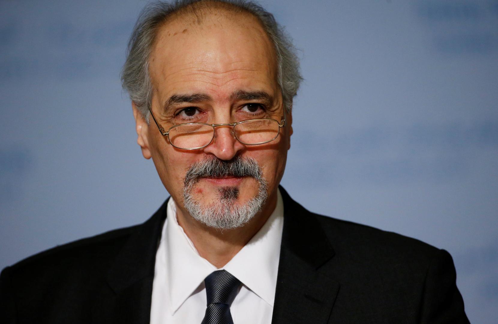 نائب وزير الخارجية السوري بشار الجعفري
