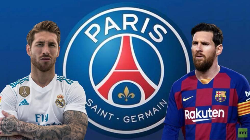 تقرير: باريس سان جيرمان أخبر راموس بتشكيل فريق يضمه وميسي