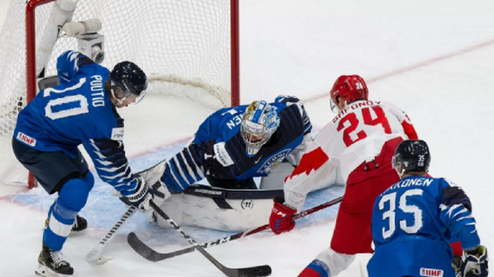 منتخب شباب روسيا للهوكي يخرج خاوي الوفاض من بطولة العالم