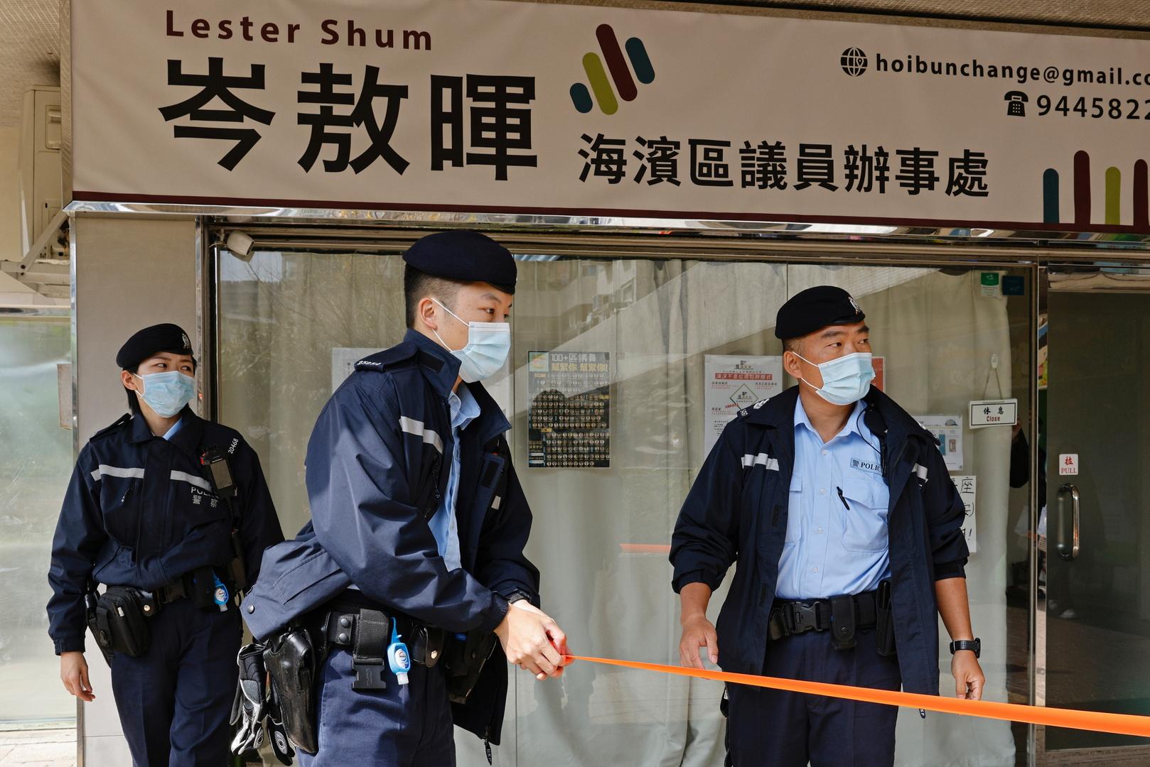 تايوان تعرب عن صدمتها من حملة اعتقال المعارضين في هونغ كونغ