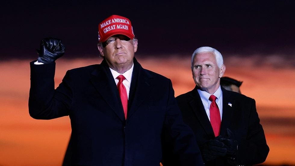 ترامب: عمليتنا الانتخابية أسوأ من نظيراتها في دول العالم الثالث