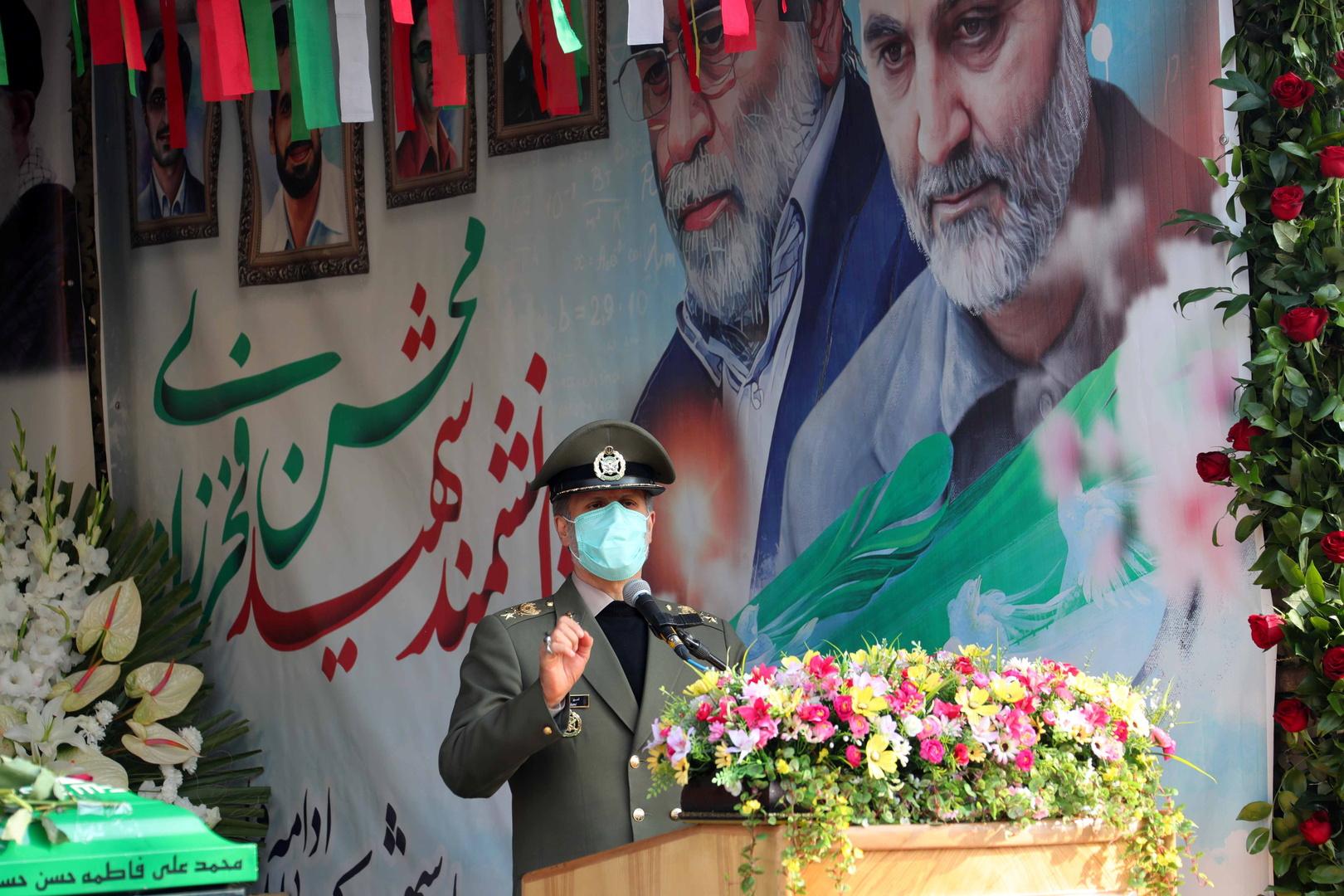 إيران تعلن امتلاك أدلة جدية على تورط إسرائيل باغتيال فخري زاده