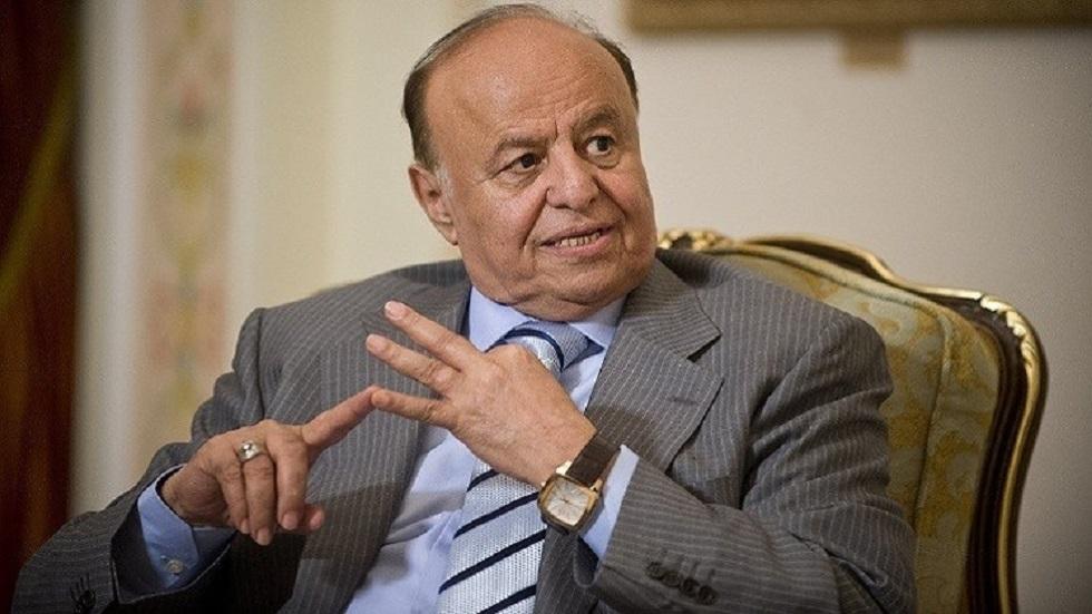 هادي: جماعة الحوثي لا تريد السلام وتعمل على تنفيذ أجندة إيران