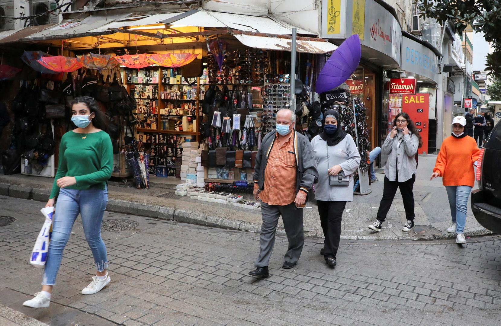 لبنان.. حصيلة قياسية ثانية بإصابات كورونا
