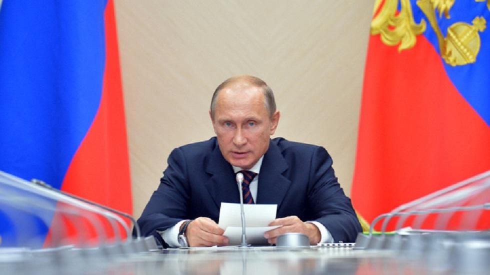 بوتين: أنطلق في قراراتي تجاه سوريا من مصالح روسيا