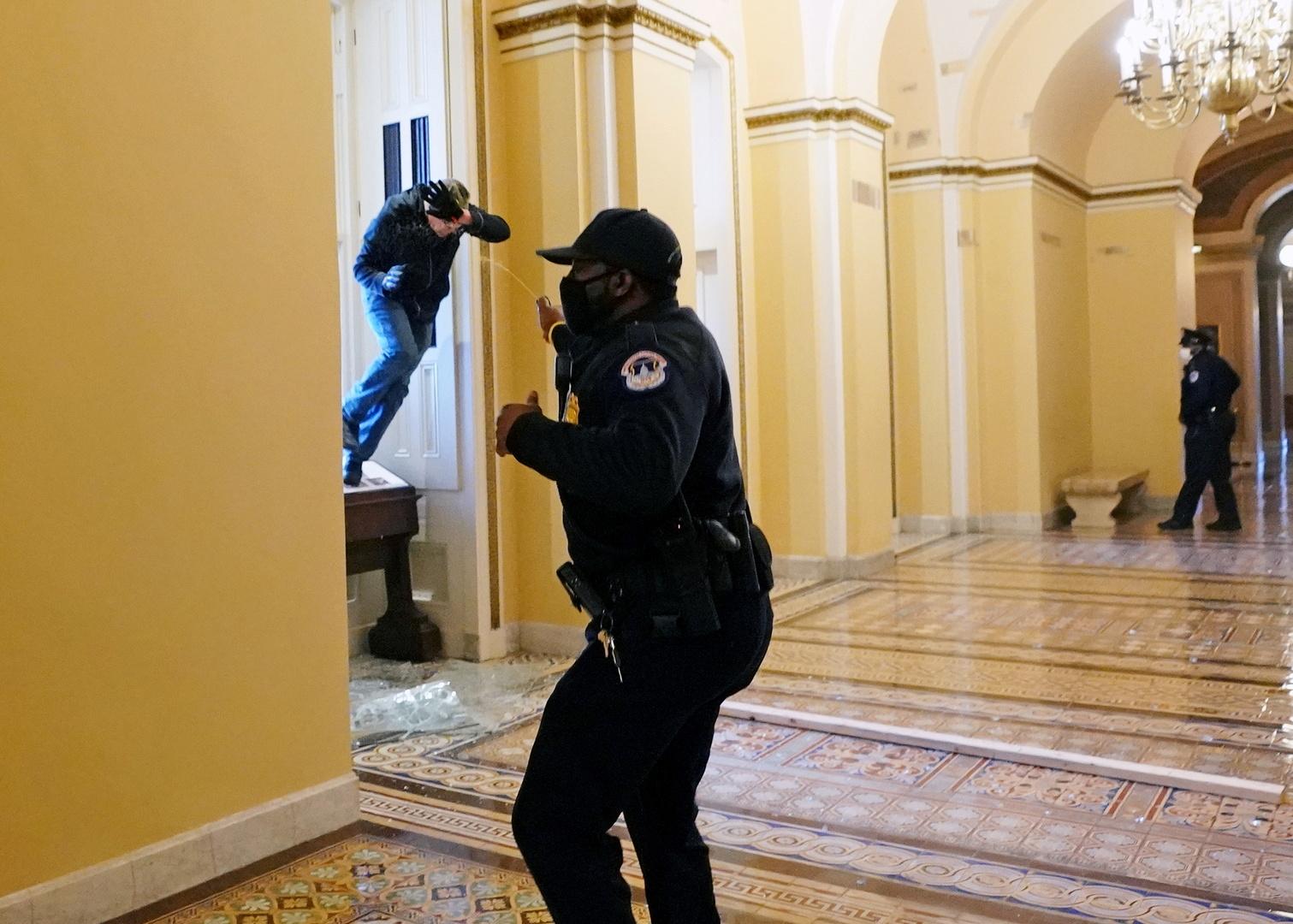 شرطة واشنطن: مقتل إمرأة بإطلاق نار في الكونغرس
