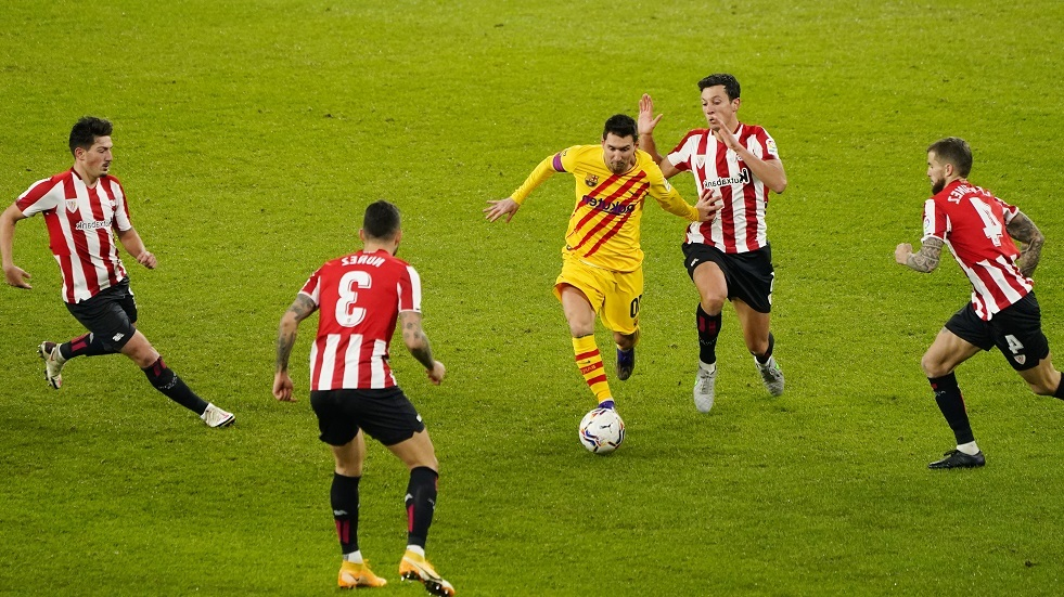 برشلونة يقلب الطاولة على أتلتيك بيلباو (فيديو)
