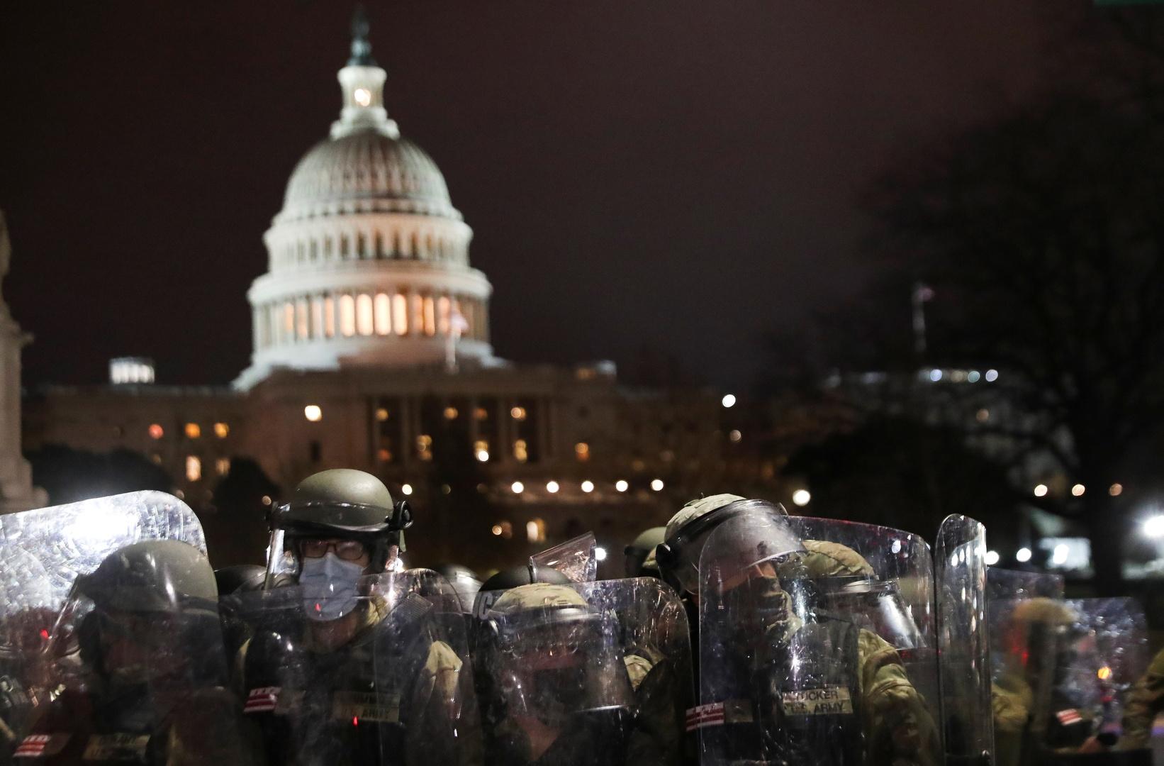 نيويورك تؤازر واشنطن بألف عنصر من الحرس الوطني