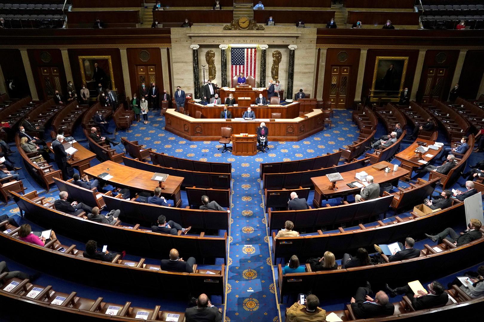 الكونغرس الأمريكي يستأنف الجلسة المشتركة لفرز الأصوات الانتخابية