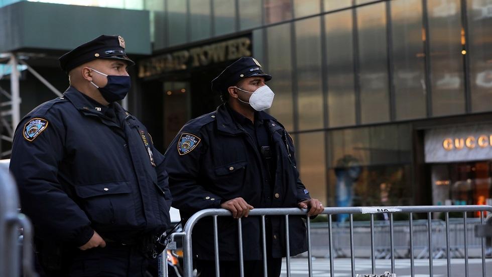 إجراءات أمنية مشددة في نيويورك وسط مظاهرة مناهضة لترامب