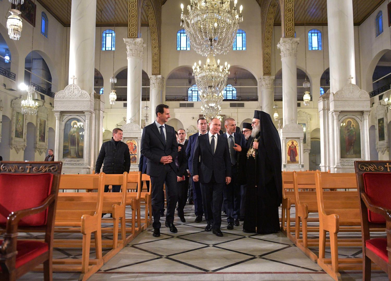 غيراسيموف يكشف الخطة الأمنية التي سبقت زيارة بوتين إلى دمشق
