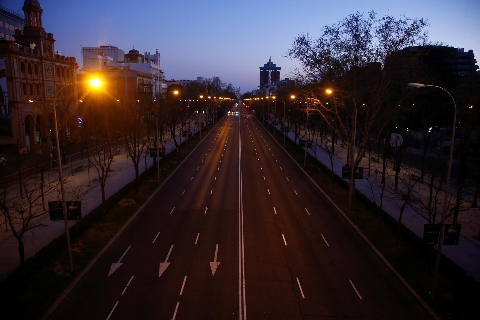 قيود كورونا تقلل عدد ضحايا حوادث السير في إسبانيا إلى أدنى مستوى