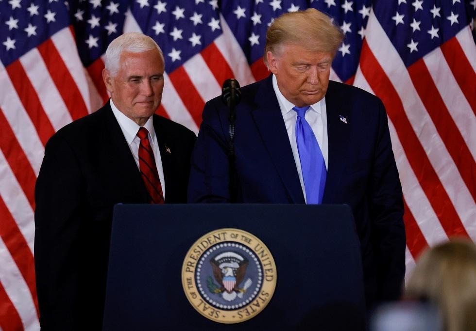 حاكم ماريلاند الجمهوري يدعو إلى إقالة ترامب ونقل زمام الأمور إلى بينس