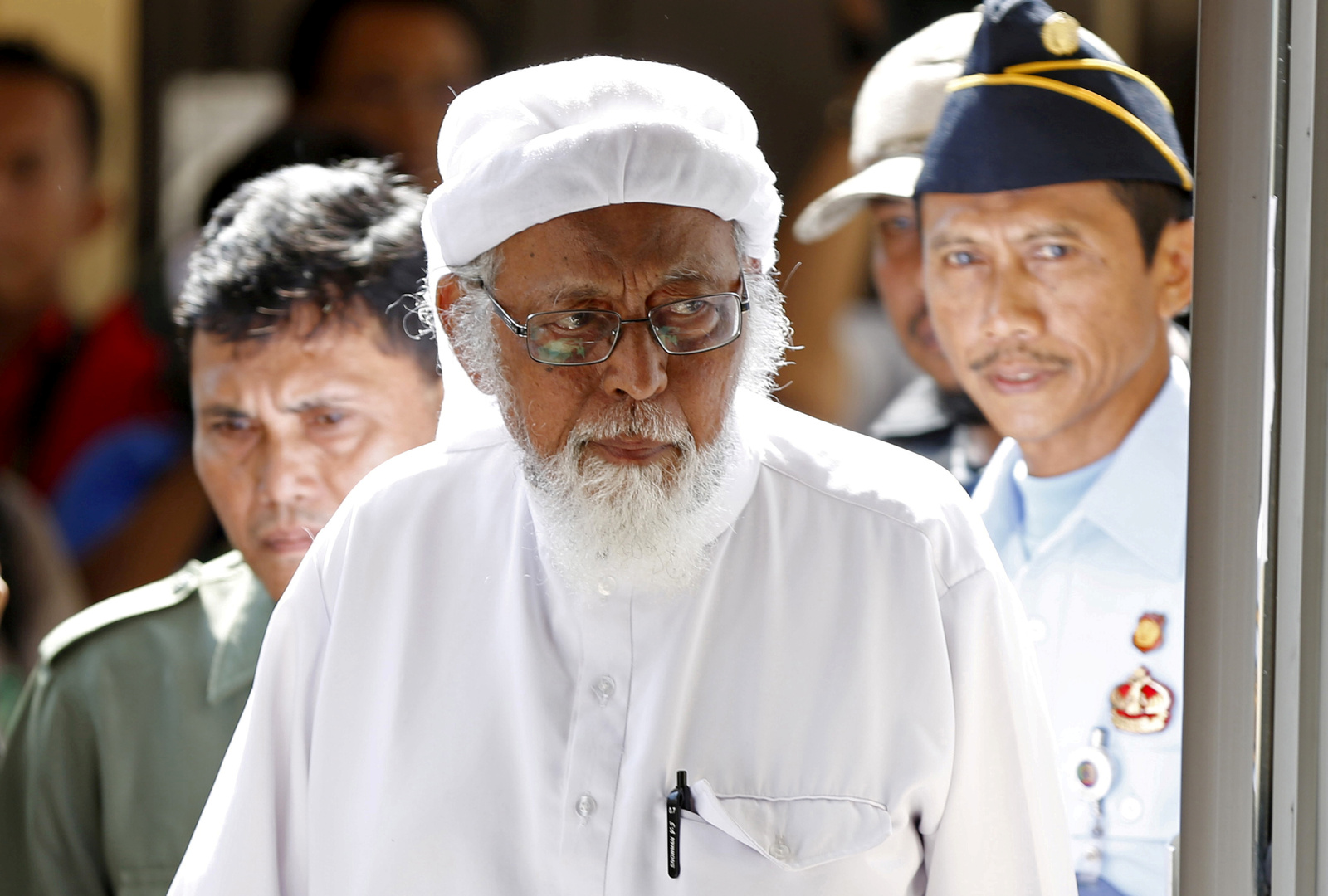 Indonesia released militant cleric linked to the Bali bombings