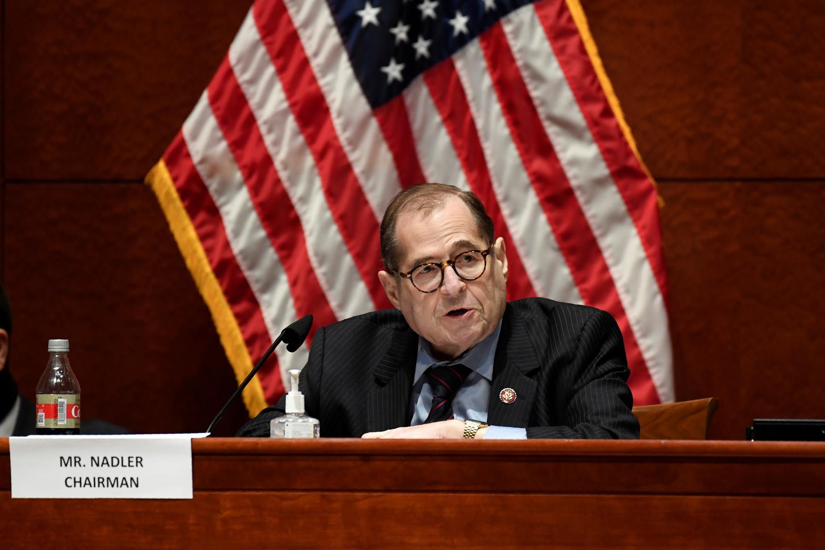 رئيس اللجنة القضائية بمجلس النواب الأمريكي يدعو لعزل ترامب فورا