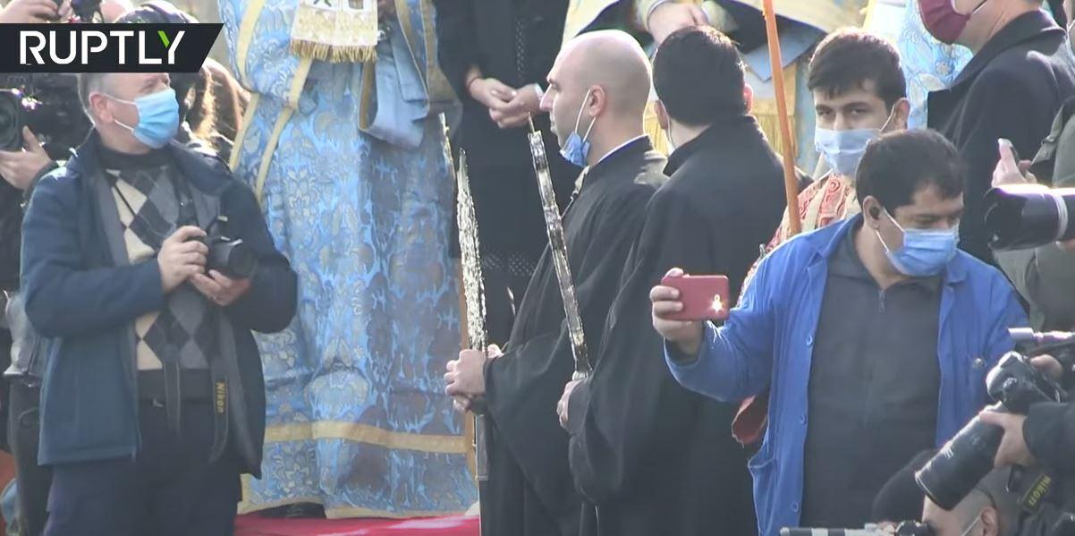 المسيحيون الأرثوذكس في اسطنبول يحتفلون بـ
