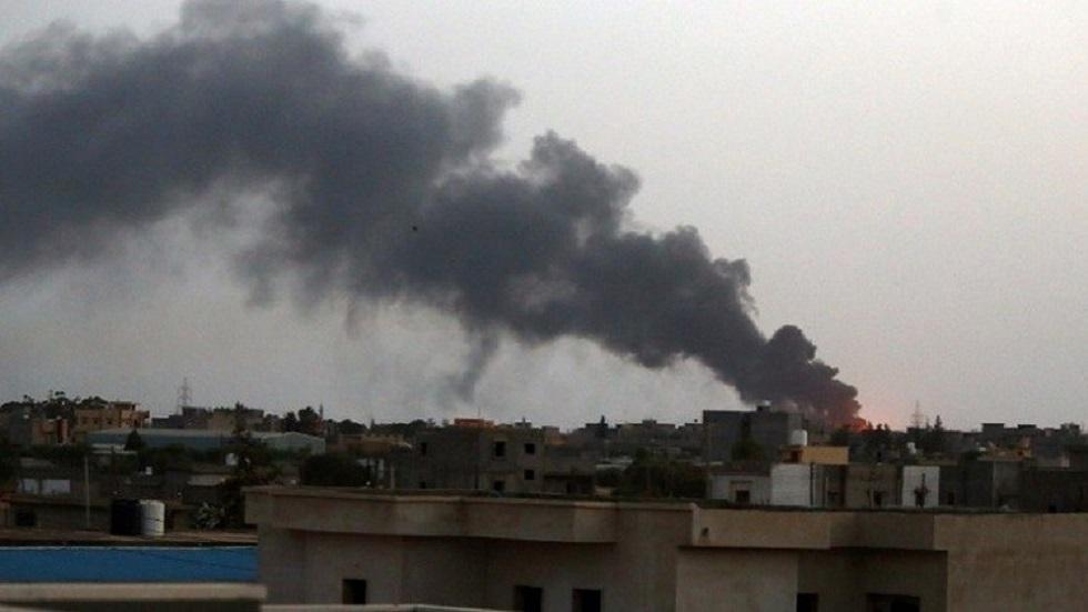 ليبيا.. انفجار محطة وقود في منطقة تاجوراء شرق العاصمة طرابلس