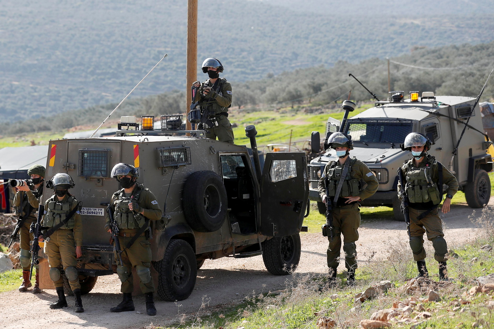 الجيش الإسرائيلي: محاولة دهس وإطلاق نار قرب قرية يعبد في قضاء جنين