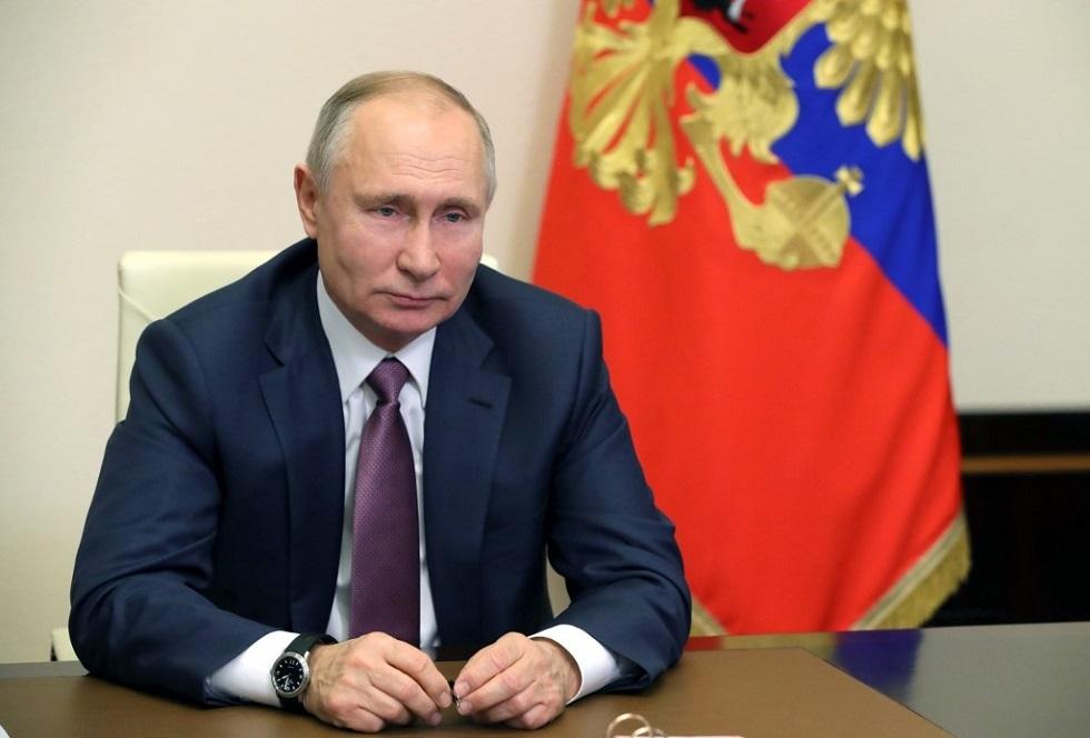 بوتين يعزي نظيره الإندونيسي في ضحايا الطائرة المنكوبة