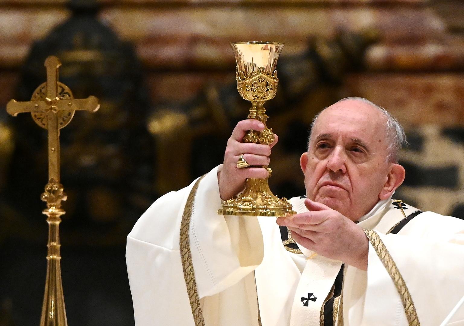 البابا يتلقى اللقاح المضاد لكورونا الأسبوع المقبل