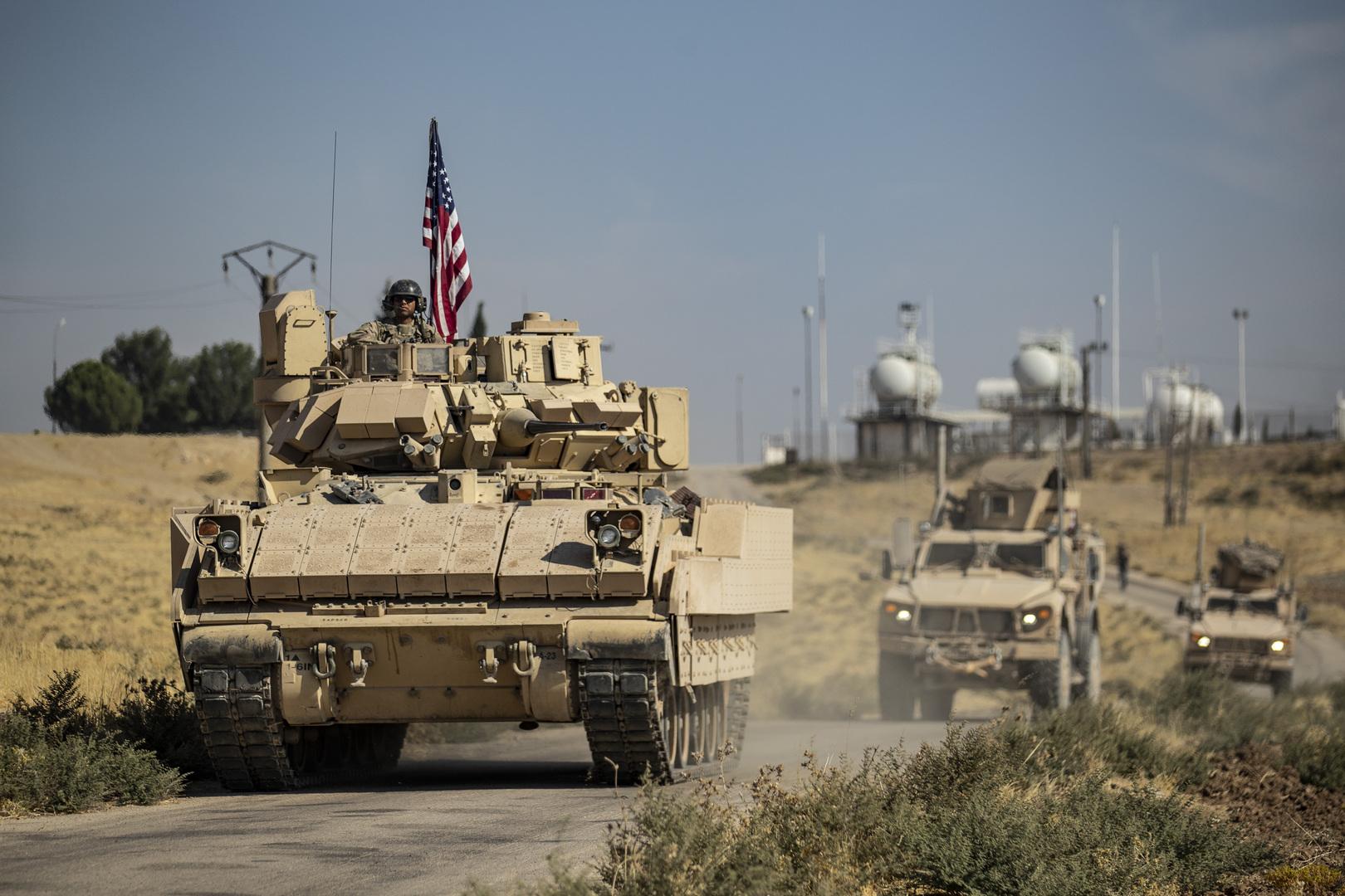 سانا: الجيش الأمريكي يرسل تعزيزات عسكرية ولوجستية إلى قواعده بريف دير الزور