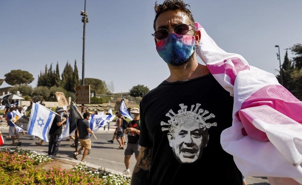 الشرطة الإسرائيلية تمنع متظاهرين مناهضين لنتنياهو من دخول القدس