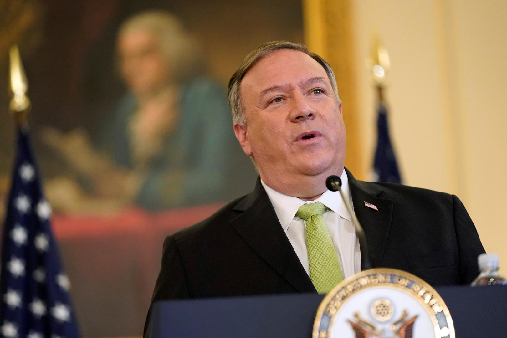 في ضربة جديدة إلى الصين.. بومبيو يعلن رفع جميع قيود الولايات المتحدة المفروضة على تعاونها مع تايوان