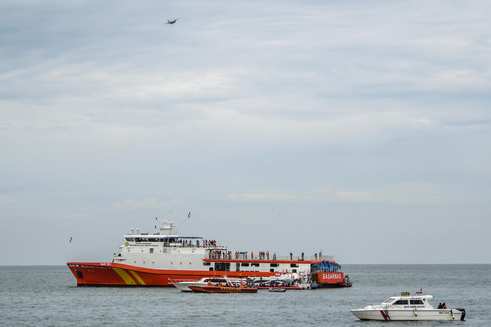 إندونيسيا تحدد موقعي الصندوقين الأسودين للطائرة المنكوبة