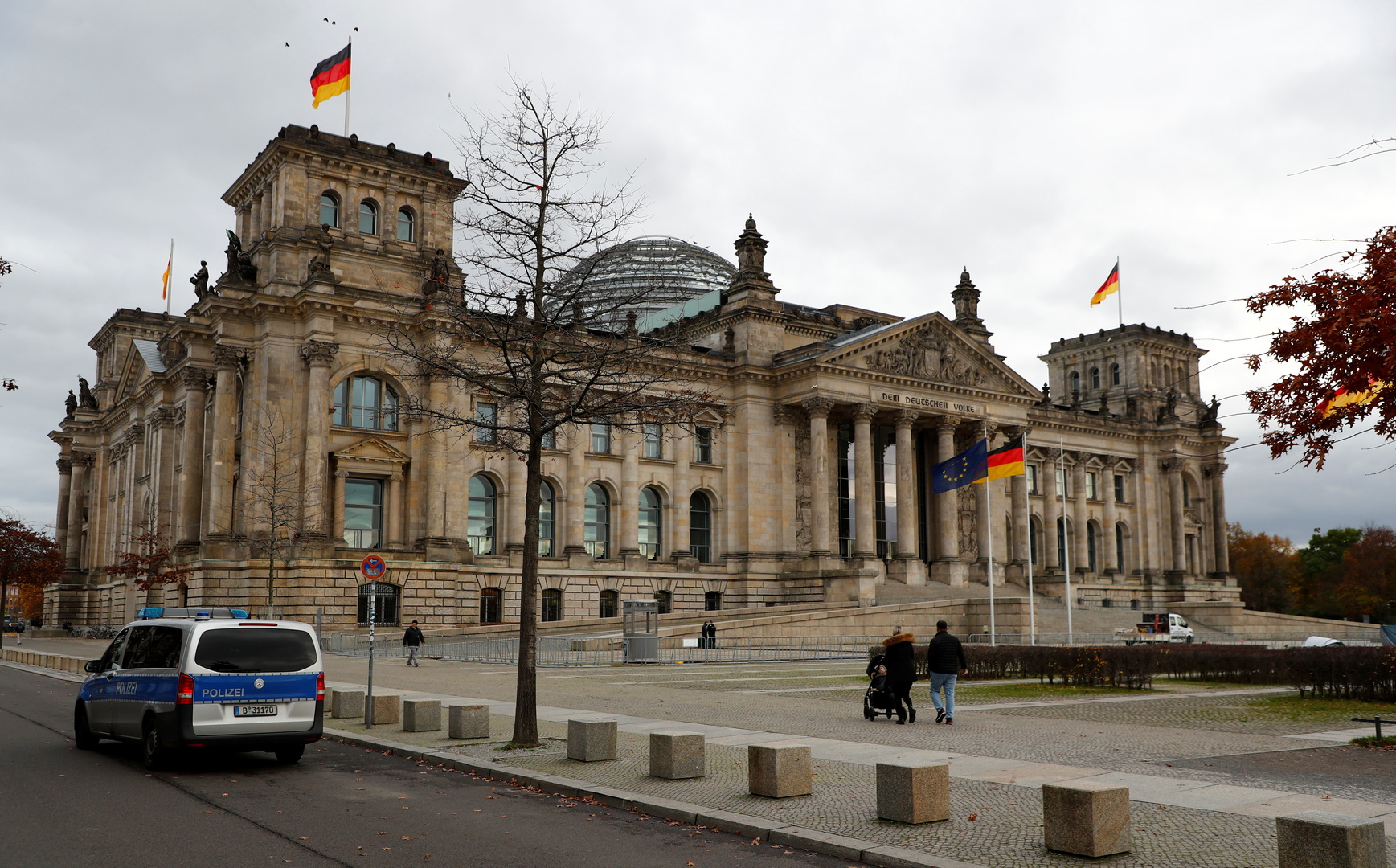 ألمانيا تعزز تدابيرها الأمنية لحماية البرلمان بعد أحداث اقتحام الكونغرس الأمريكي