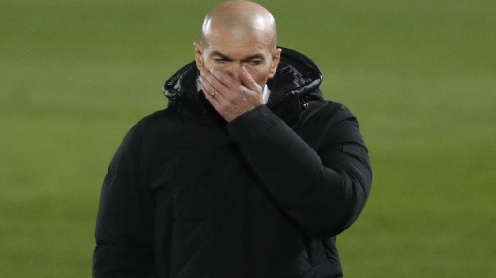 أول تعليق لزيدان بعد تعثر ريال مدريد أمام أوساسونا