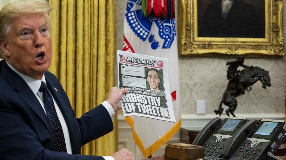 هل يبدأ ترامب مدونته على RT العربية