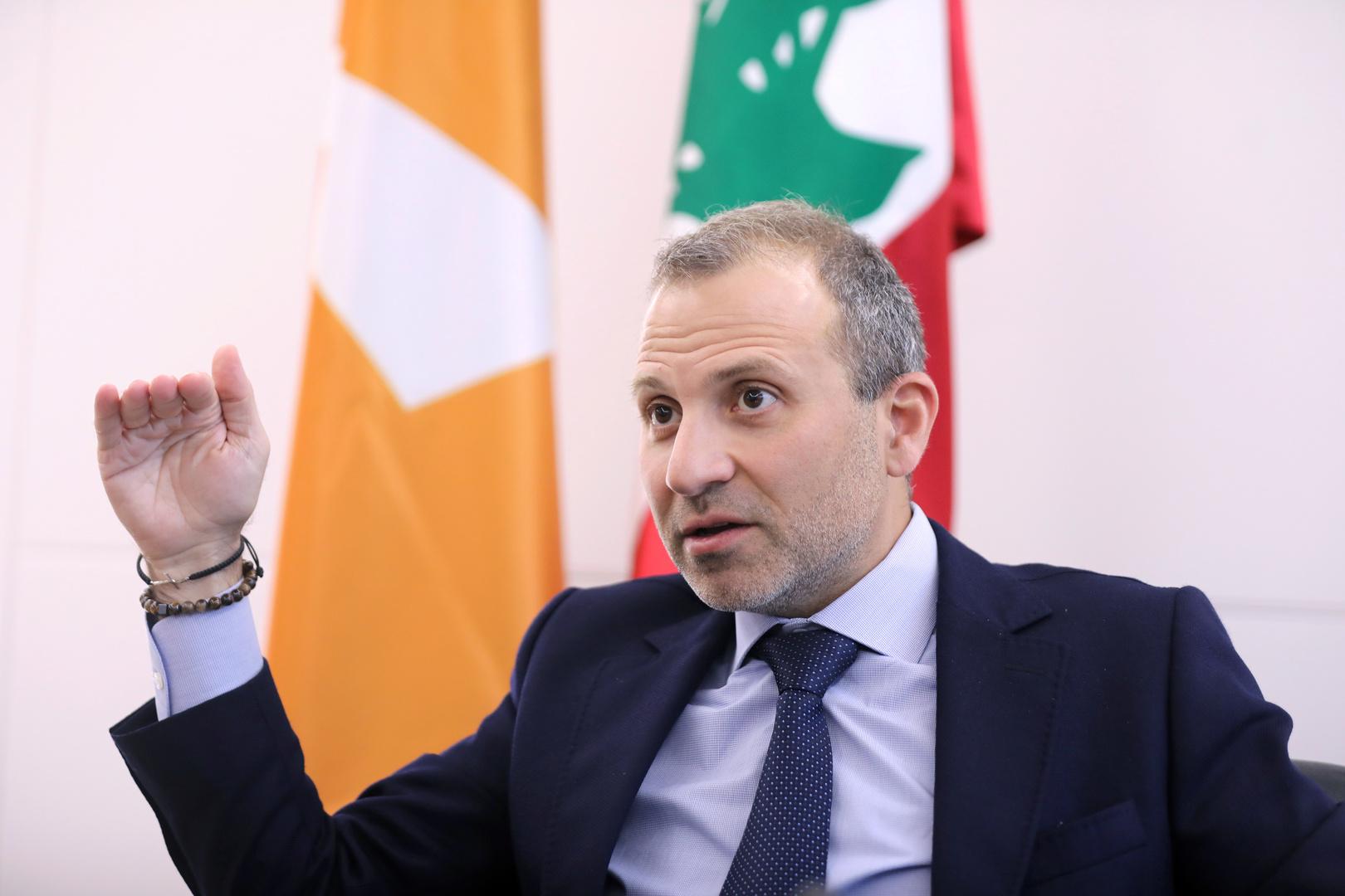 جبران باسيل: إسرائيل طرحت على لبنان استسلاما وتريد تفتيت البلاد وأن يترك المسيحيون المنطقة