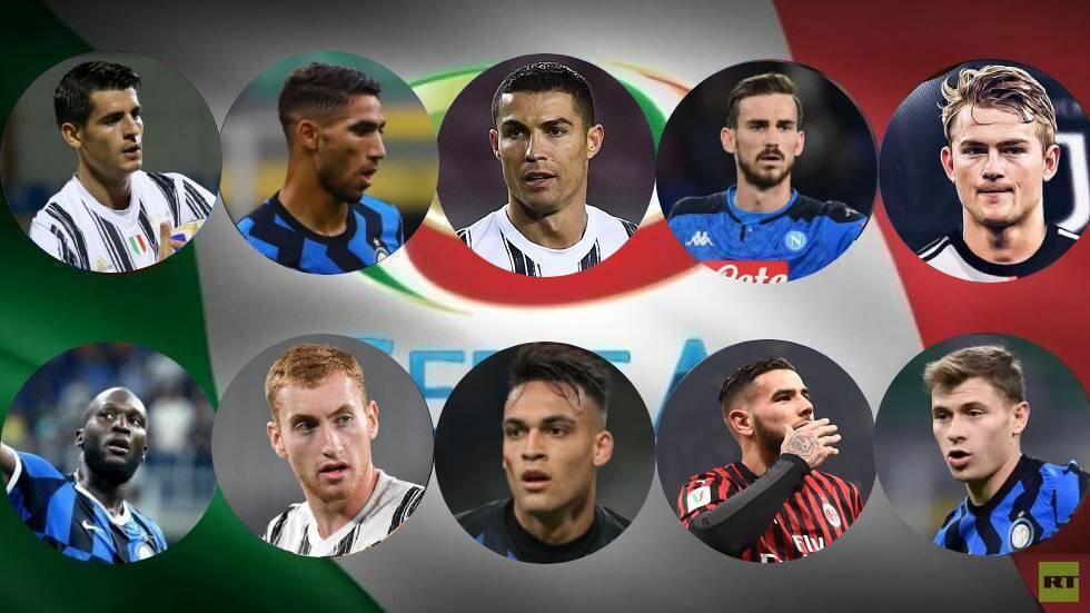 لاعب عربي يتقدم على رونالدو ولاعبي الدوري الإيطالي في قائمة