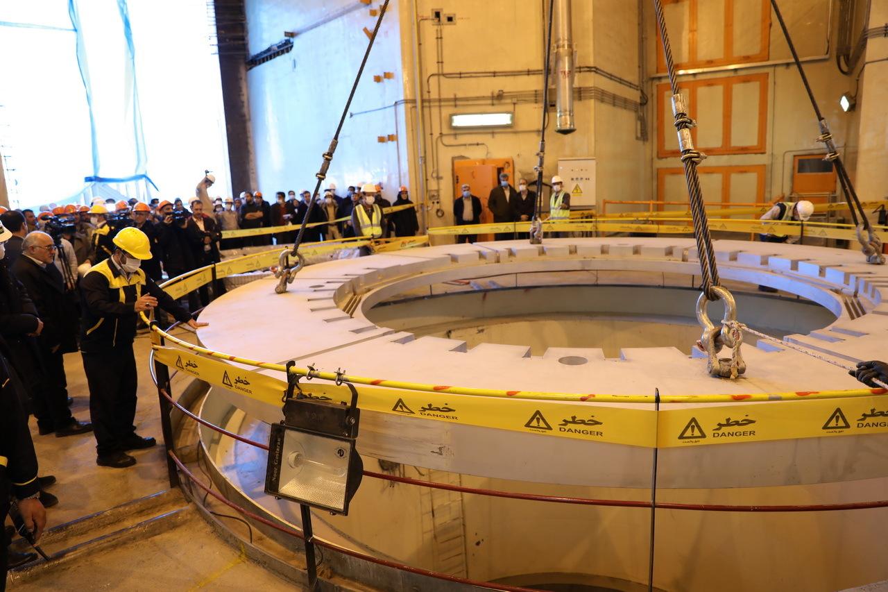 إيران تعلن بدء العمل على مفاعل نووي جديد مشابه لـ