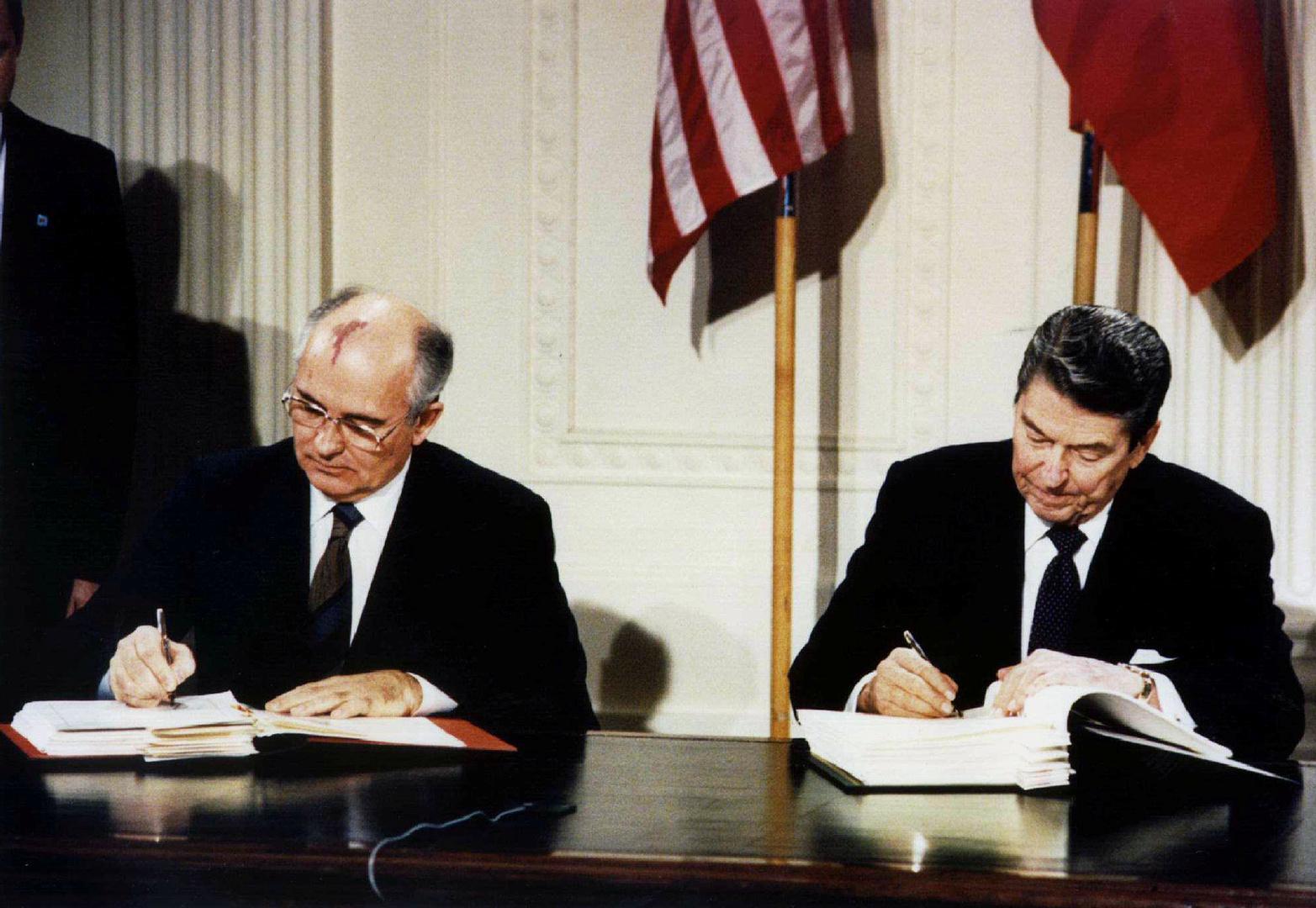 غورباتشوف يقدم اقتراحا لروسيا والولايات المتحدة