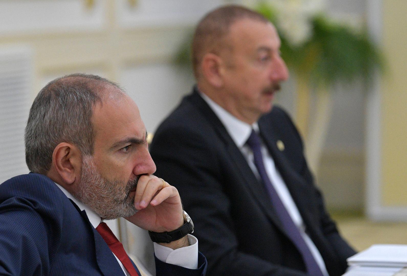 علييف وباشينيان في موسكو للقاء بوتين وبحث تنفيذ الاتفاق الثلاثي