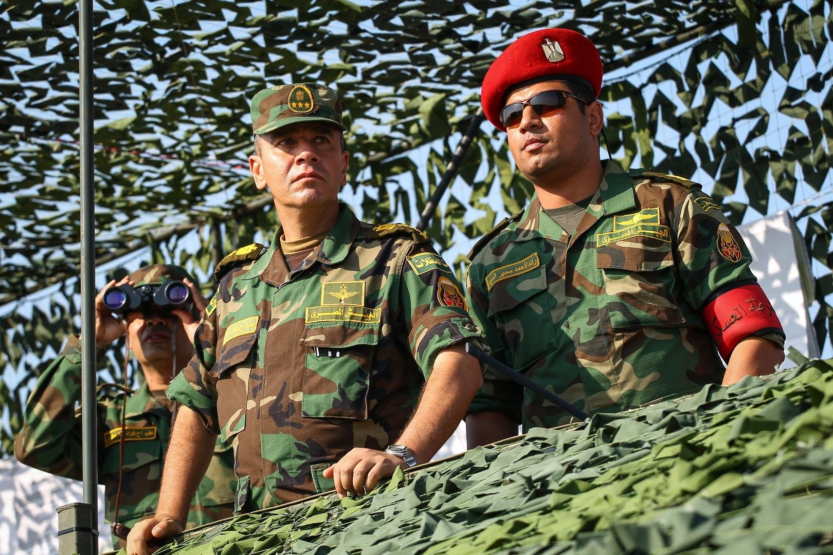 الجيش المصري يتسلم
