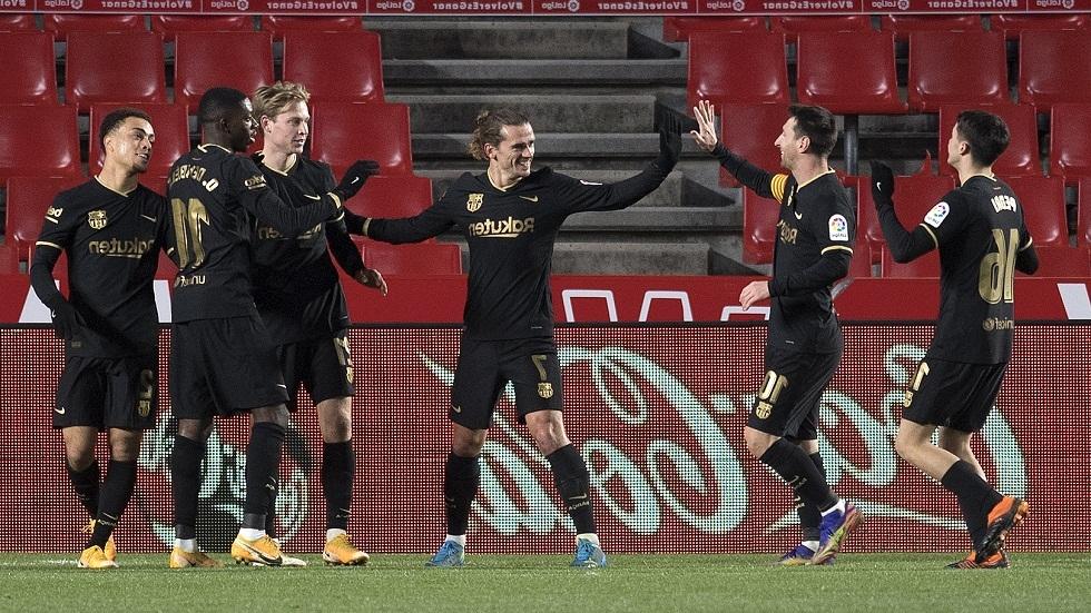 الكشف عن قائمة برشلونة لمواجهة ريال سوسيداد في السوبر الإسباني