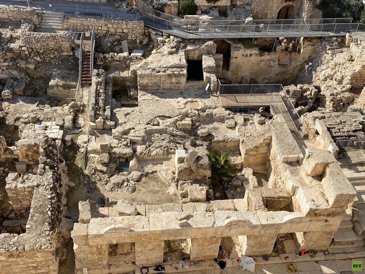 دائرة أوقاف القدس تعرب عن قلقها من الحفريات الإسرائيلية في الأقصى (صور+ فيديو)