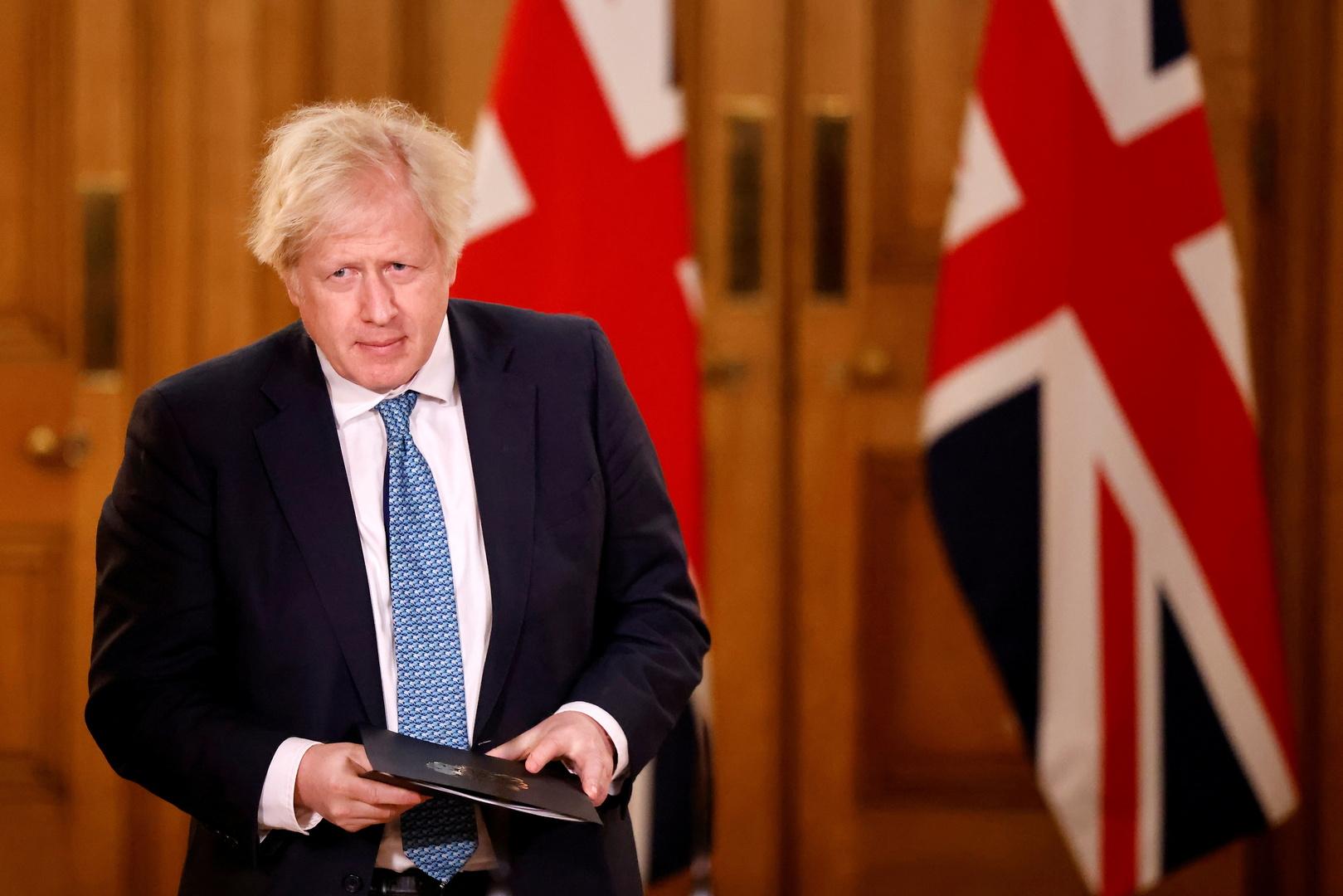جونسون: بريطانيا تواجه لحظة عصيبة بسبب نقص الأكسجين في بعض المناطق