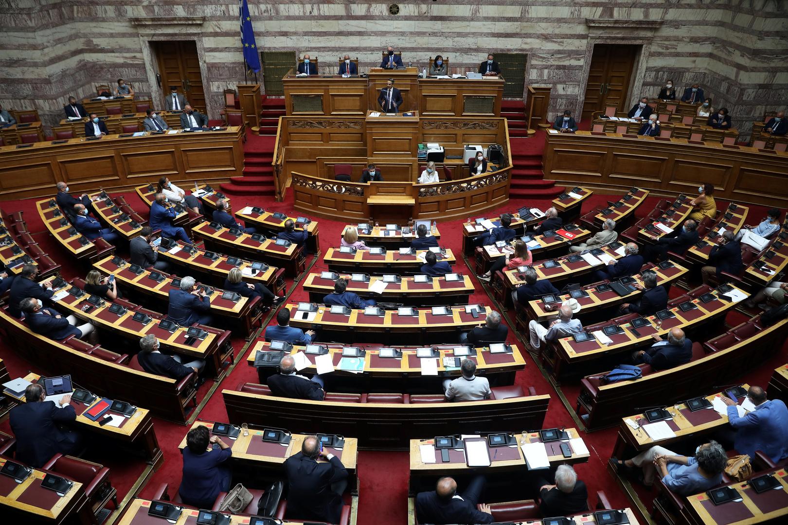 اليونان تخطط لتوسيع المياه الإقليمية على طول الساحل الغربي