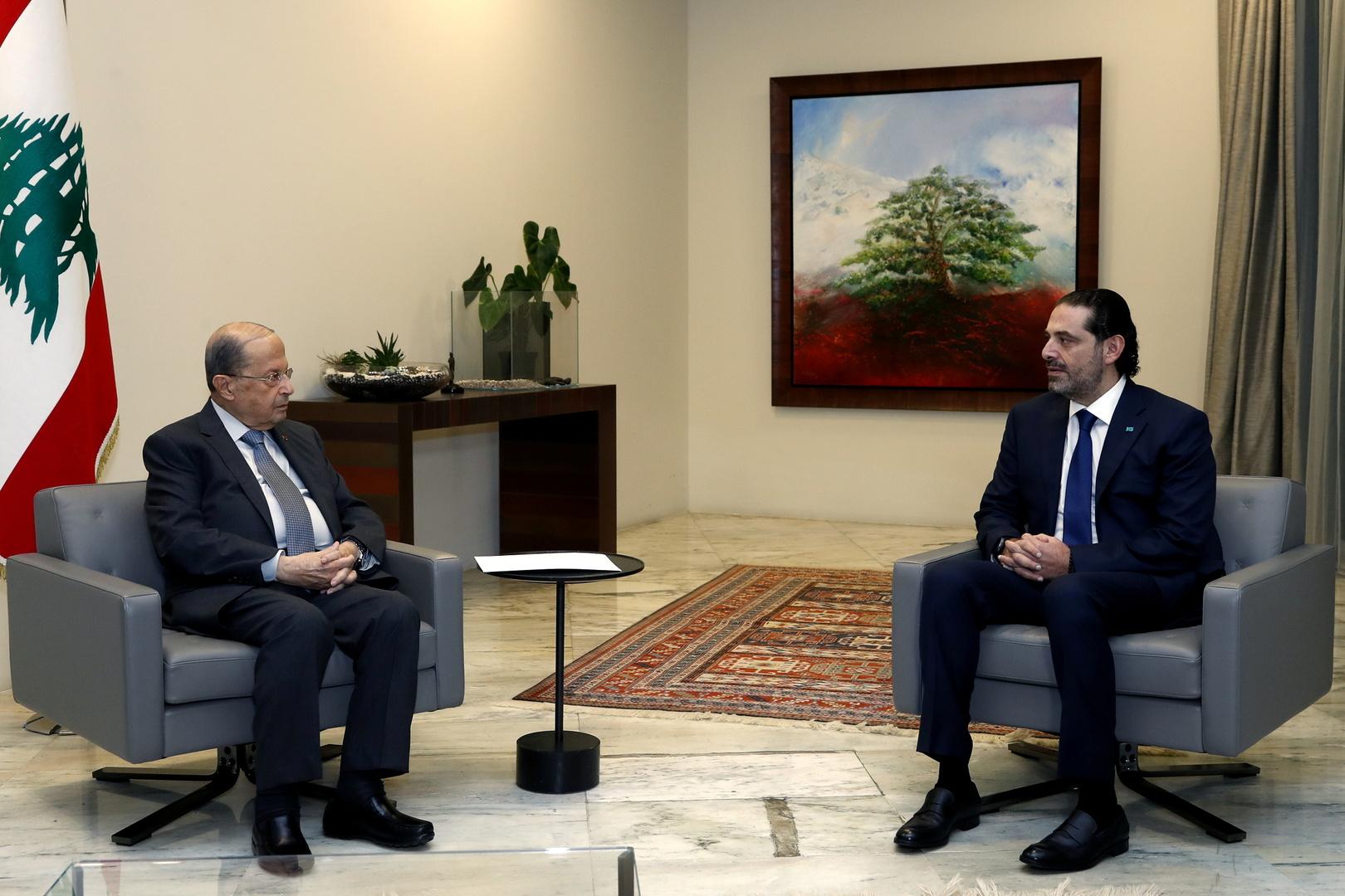 الرئيس اللبناني يصف الحريري بـ