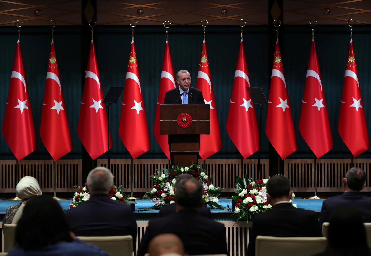 أردوغان يعلن موعد بدء التلقيح الجماعي ضد كورونا في تركيا